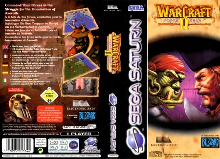Warcraft 2 (E) Front+Back